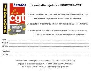 Bulletin d'adhésion IN40